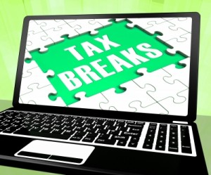 tax breaks on laptop