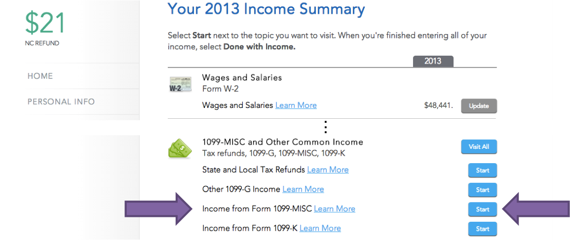 How To Enter 1099 Misc Fellowship Income Into Turbotax Evolving