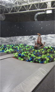 trampoline flip