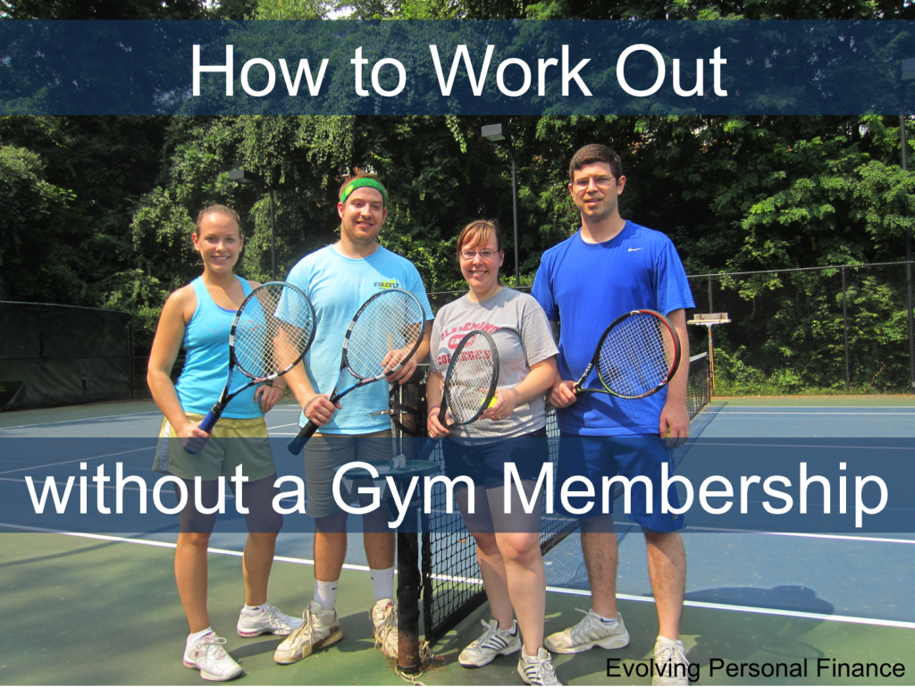 no gym membership