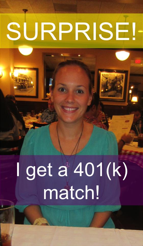 surprise 401k match