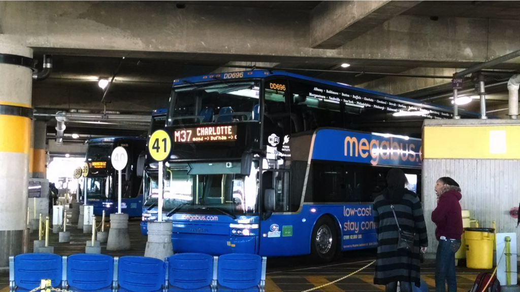 megabus in union station