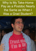 Why Is My Take-Home Pay as a Postdoc Nearly the Same as When I Was a Grad Student?