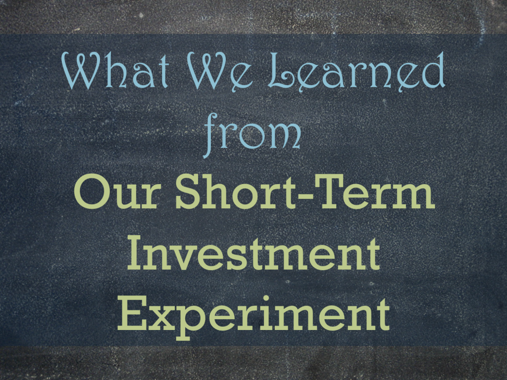 learned investing experiment