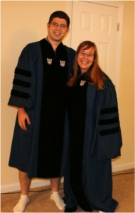 oops - did we mix up our robes?