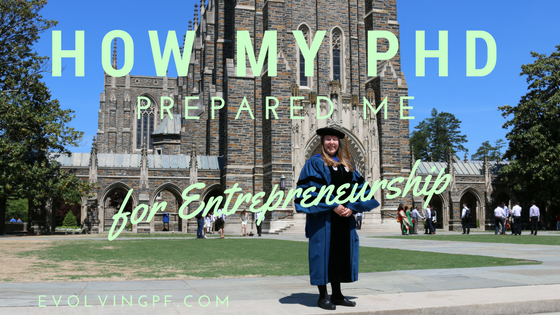 PhD entrepreneur