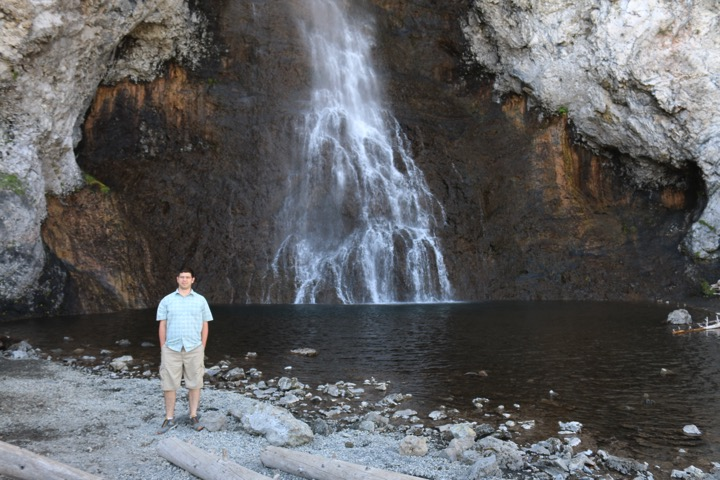 posing with Fairy Falls
