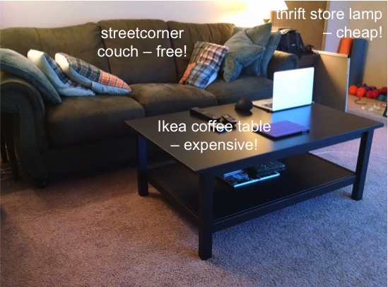 Lifestyle Increase vs. Lifestyle Inflation: Ikea Furniture