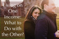 Living on One Income: What to Do with the Other?