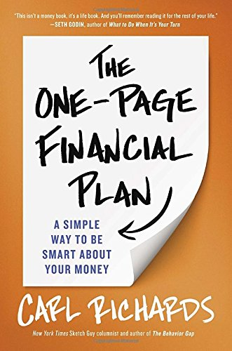 Reflections on The One-Page Financial Plan